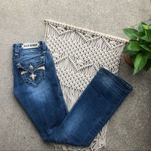 Read/See Pics Rock Revival Easy Boot Jeans Size 26